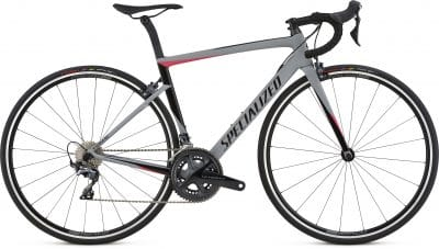 2018 Specialized Women's Tarmac Expert Satin Gloss Cool Gray/Acid Pink/Black
