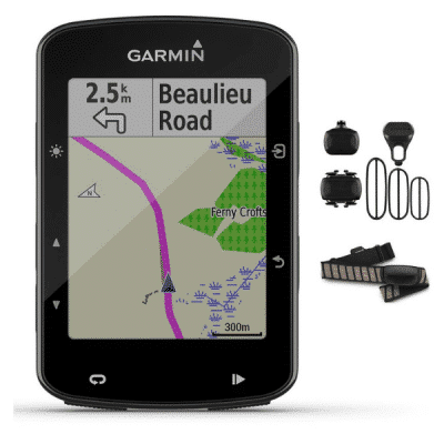 Garmin Edge 520 Plus GPS Bike Computer Bundle