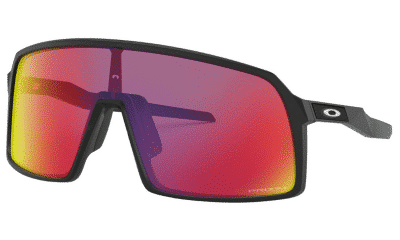 Oakley Sutro Sunglasses Matte Black with PRIZM Road
