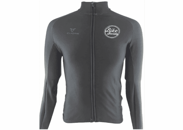 Bike Society Thermal Active Shield Winter Jersey Black