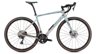 2021 Specialized Diverge Comp Carbon - Gloss Ice Blue-Clay-Cast Umber-Chrome-Wild Ferns