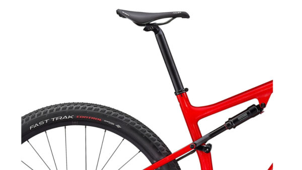 2021 Specialized Epic Comp - Gloss Flo Red w Red Ghost Pearl-Metallic White Silver (4)