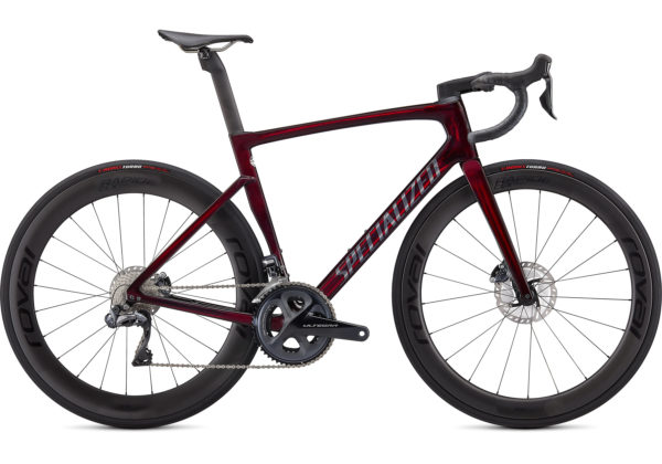 2021 Specialized Tarmac SL7 Pro Udi2 - Red Tint-Carbon