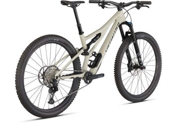 2021 Specialized Stumpjumper Comp Carbon - Gloss White Mountains-Black (3)