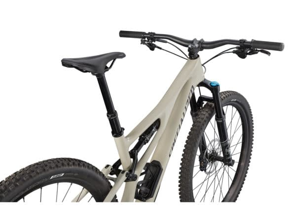 2021 Specialized Stumpjumper Comp Carbon - Gloss White Mountains-Black (4)
