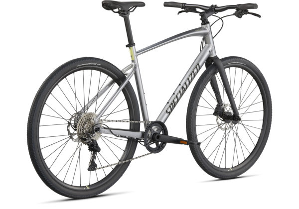 2021 Specialized Sirrus X 3.0 - Gloss Flake Silver-Ice Yellow-Satin Black Reflective (3)