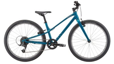 2022 Specialized Jett 24 - Gloss Teal Tint-Flake Silver