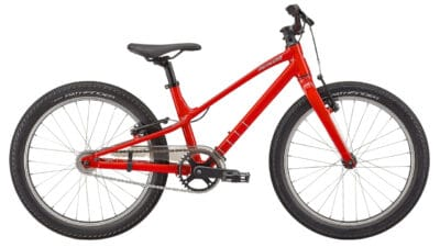 2022 Specialized Jett 20 Single Speed - Gloss Flo Red-White